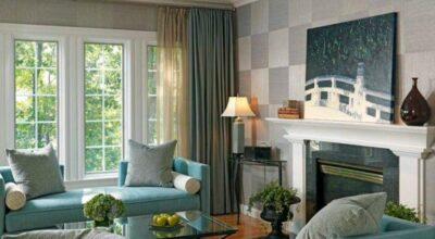 Praticidade e estilo: os tecidos para parede têm o poder de renovar seu lar