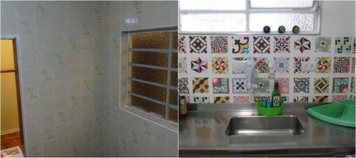 Como pintar azulejos de banheiros e cozinhas para renovar - Como pintar azulejos a mano ...