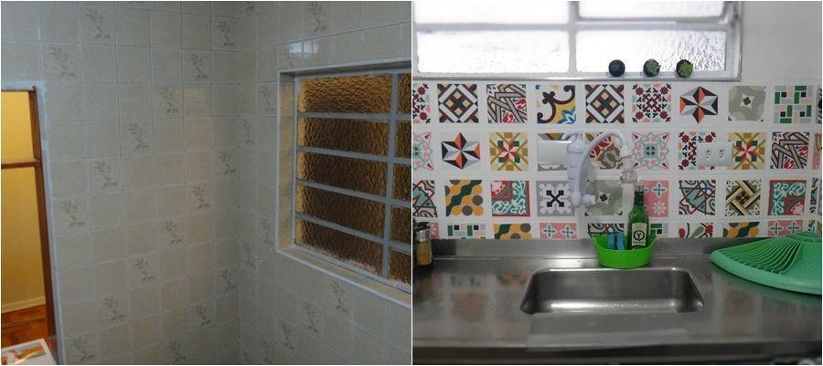 Foto: Antes e Depois. Reprodução / E Se Esta Casa Fosse Minha!?