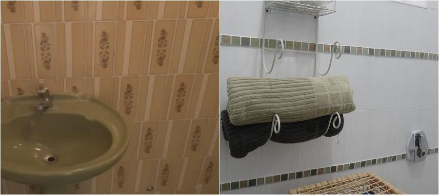 Como pintar azulejos de banheiros e cozinhas para renovar - Pintar sobre azulejos ...