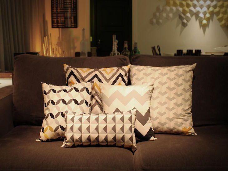 fc40fc8c7 Almofadas decorativas  60 ideias para decorar os cômodos da casa
