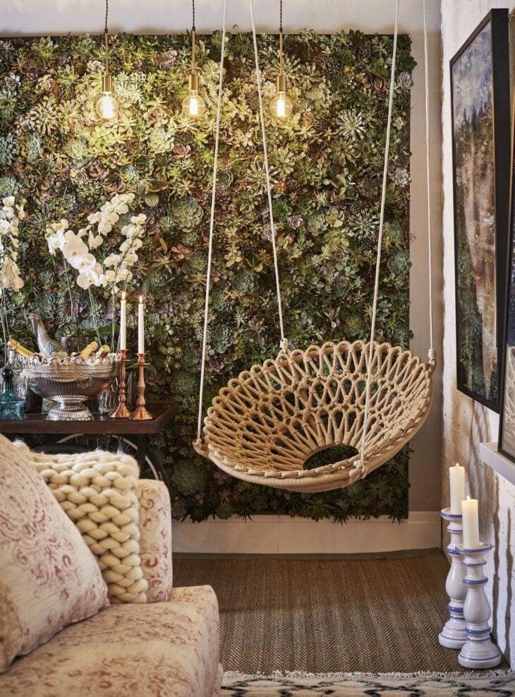 40 maneiras de usar balan os na decora o do seu lar for Casa fauteuil jardin