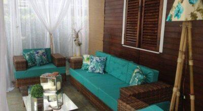 Casa de veraneio em Itu: um projeto de revitalização de varanda para o descanso