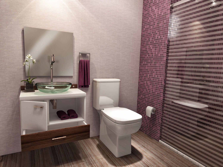 Espelhos para banheiros 50 inspirações para trazer charme ao ambiente -> Gabinete De Banheiro Etna