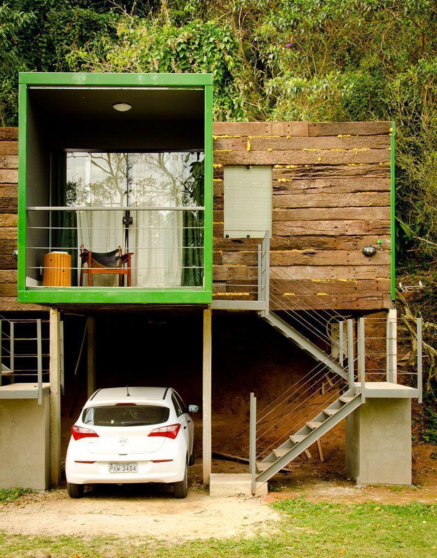Fachadas de casas pequenas e modernas 100 fotos lindas e for Modelos de fachadas de casas