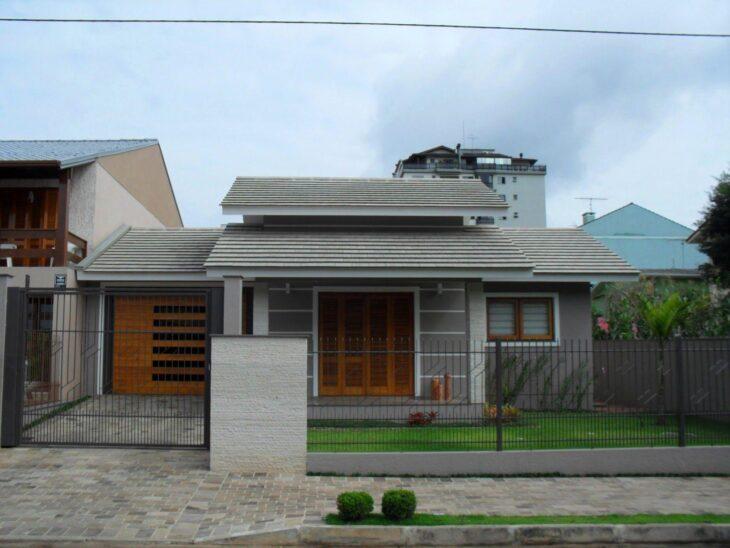Fachadas de casas pequenas e modernas 100 fotos lindas e for Cores modernas para fachadas de casas 2016