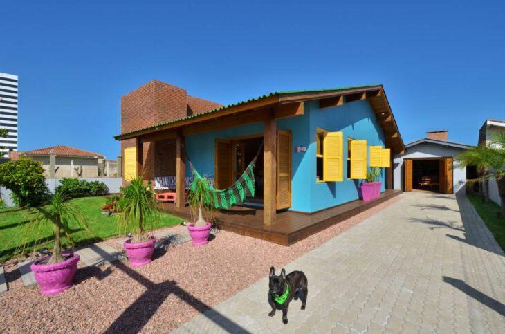 Fachadas De Casas Pequenas E Modernas 100 Fotos Lindas E Inspiradoras - Casas-super-pequeas