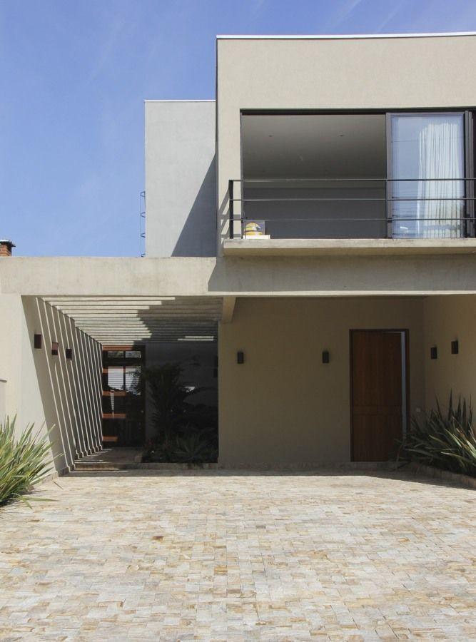 Fachadas de casas pequenas e modernas 100 fotos lindas e for Fotos de casas modernas brasileiras