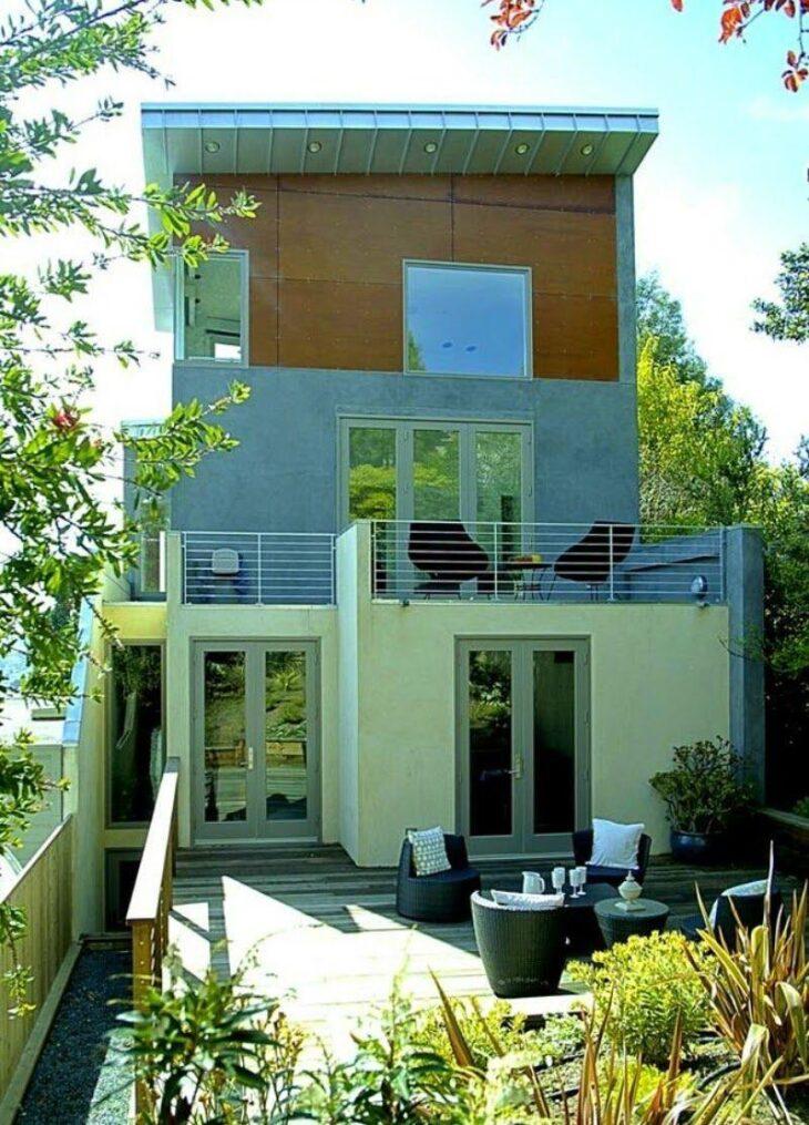 Fachadas de casas pequenas e modernas 100 fotos lindas e for Fachadas minimalistas de casas pequenas