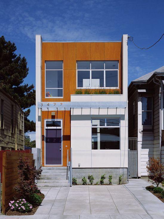 Fachadas de casas pequenas e modernas 100 fotos lindas e for Modelos de casas fachadas fotos