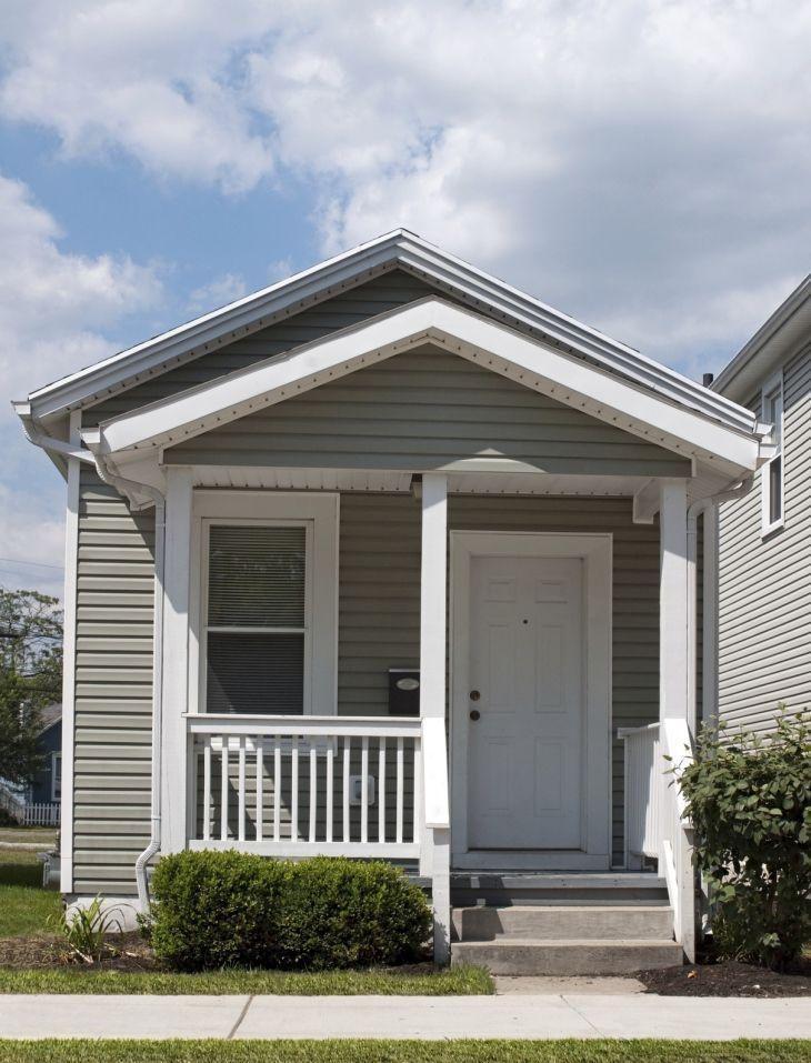 Fachadas de casas pequenas e modernas 100 fotos lindas e for Fachadas casa modernas pequenas