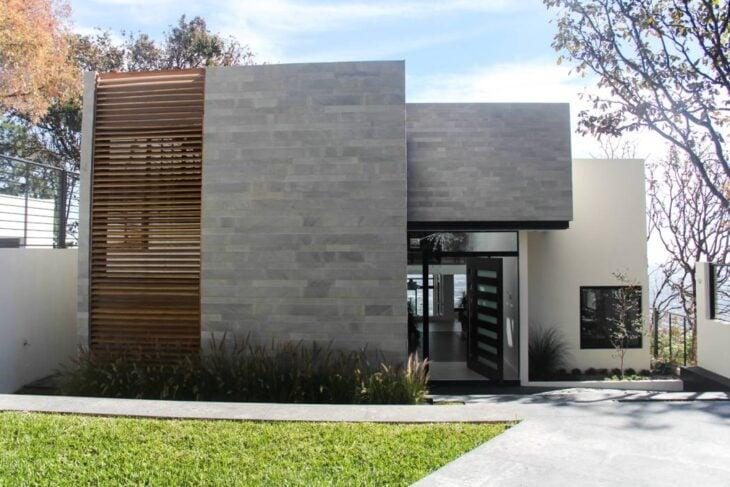 Fachadas de casas pequenas e modernas  100 fotos lindas e inspiradoras a69768f88e