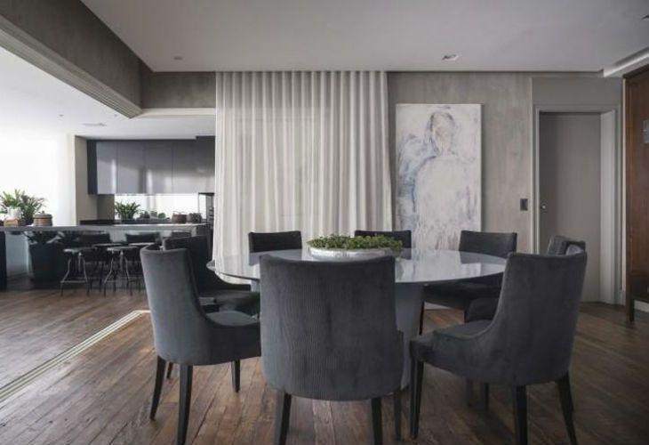Mesa redonda 60 op es bonitas e estilosas para sua sala for Mesas de comedor redondas modernas
