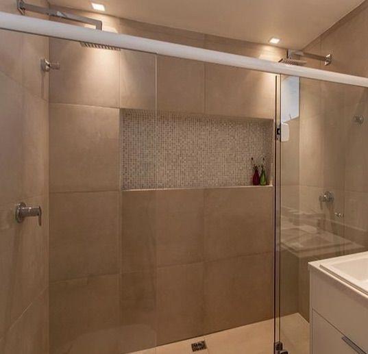 Nicho para banheiro 60 inspirações que aliam bom gosto e funcionalidade -> Nicho De Banheiro Barato