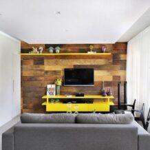 Painel para TV: 90 modelos e cores para você tirar ideias de decoração