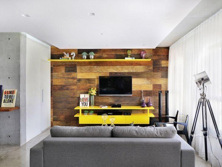 Ideias De Painel Para Sala De Tv ~ Painel para TV 90 modelos e cores para você tirar ideias de