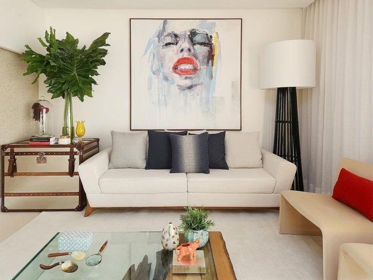 40 Modelos De Sofas Pequenos Para A Sala Da Sua Casa