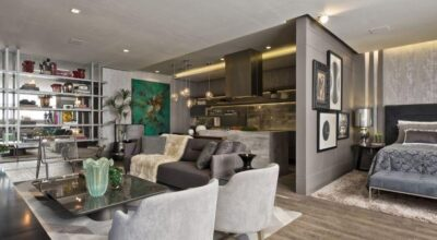 Espaço pequeno: novo estilo de morar na decoração de um loft de 65m²