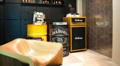 30 formas de usar tambor e barril na decoração sem parecer a casa do Chaves