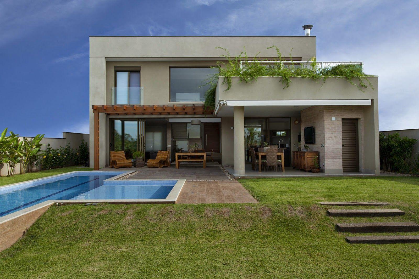 Imperd vel 110 refer ncias de casas bonitas para se inspirar Interiores de casas modernas 2016