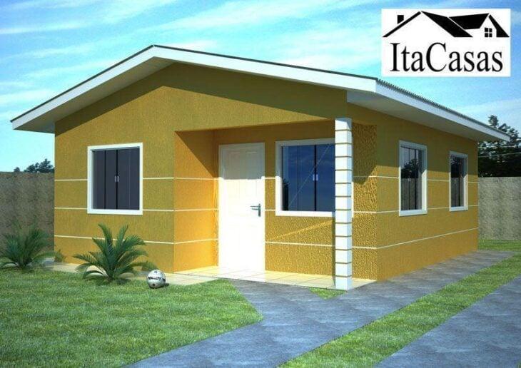 Casas pr fabricadas 50 modelos em materiais e for Modelo de casa x dentro