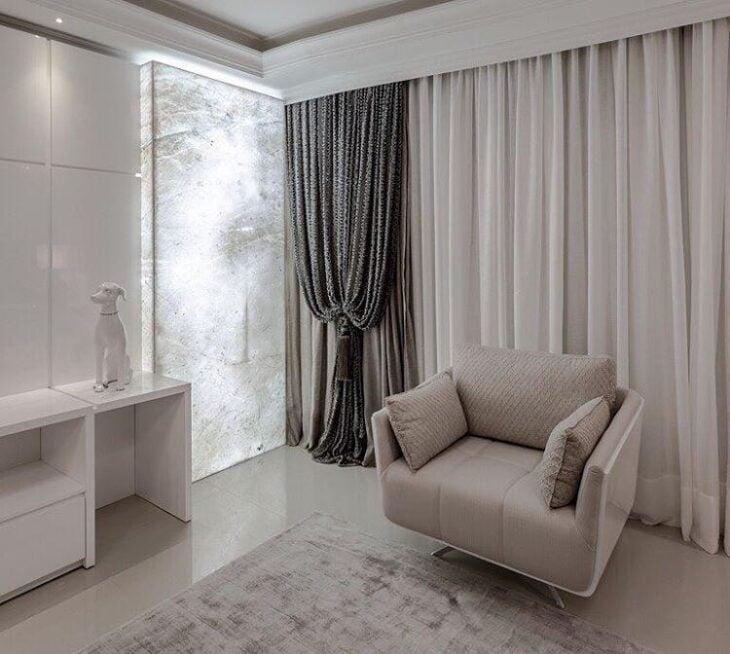 45 modelos de cortina voil branca para ambientes clássicos 1fddeff68a3