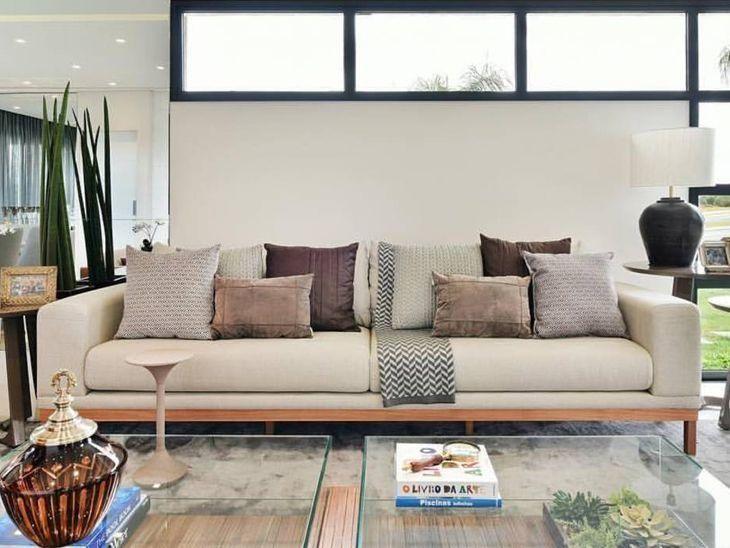 60 modelos de sof para deixar sua sala mais confort vel e - Modelos de sofas ...