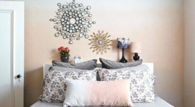 Parede ombré é tendência de decoração e deixa os ambientes incríveis