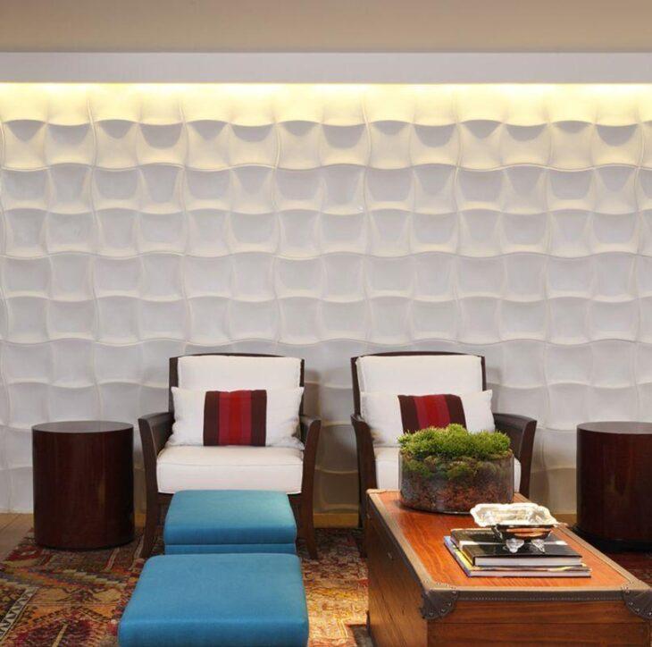 Gesso decorado para parede decorao em gesso decorao for Paredes decoradas