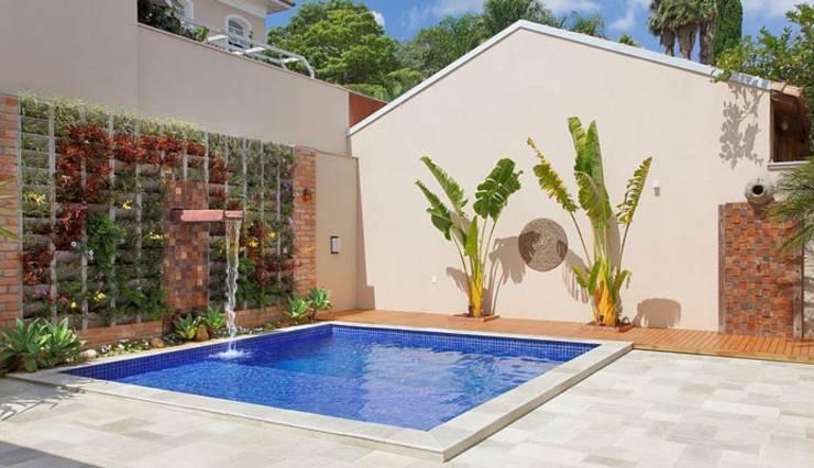 53 modelos de piscinas pequenas para todo tipo de espa o - Piscinas pequenas prefabricadas ...
