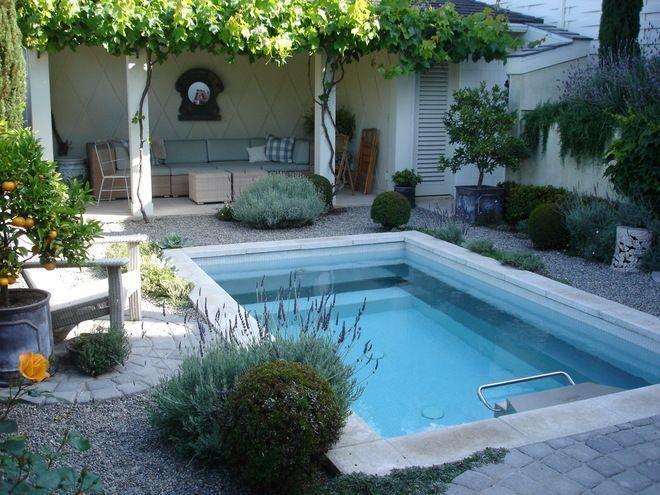 53 modelos de piscinas pequenas para todo tipo de espa o for Fotos piscinas pequenas