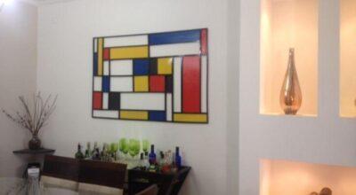 Faça você mesma: aprenda a criar um quadro/escultura Mondrian 3D
