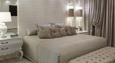 Luxo e simplicidade: 45 quartos de casal com tons neutros para se inspirar