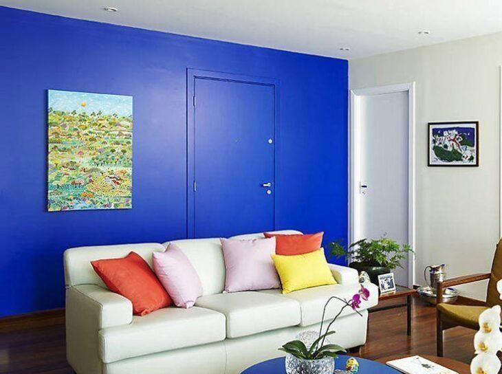 0159f3a92e8e3 Sala azul: 55 ideias para apostar no tom na decoração