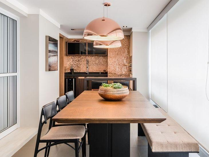 70 varandas gourmet decoradas em apartamentos e casas for Sala de estar gourmet
