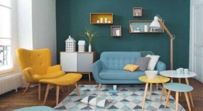 Estampa geométrica pode ser usada em pisos, paredes e objetos de decoração