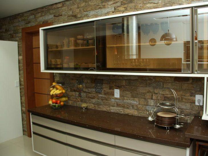 decoracao cozinha marrom : Granito marrom absoluto: veja 30 projetos e ideias de ...