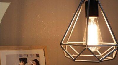Como fazer uma luminária wire, a luminária geométrica da moda