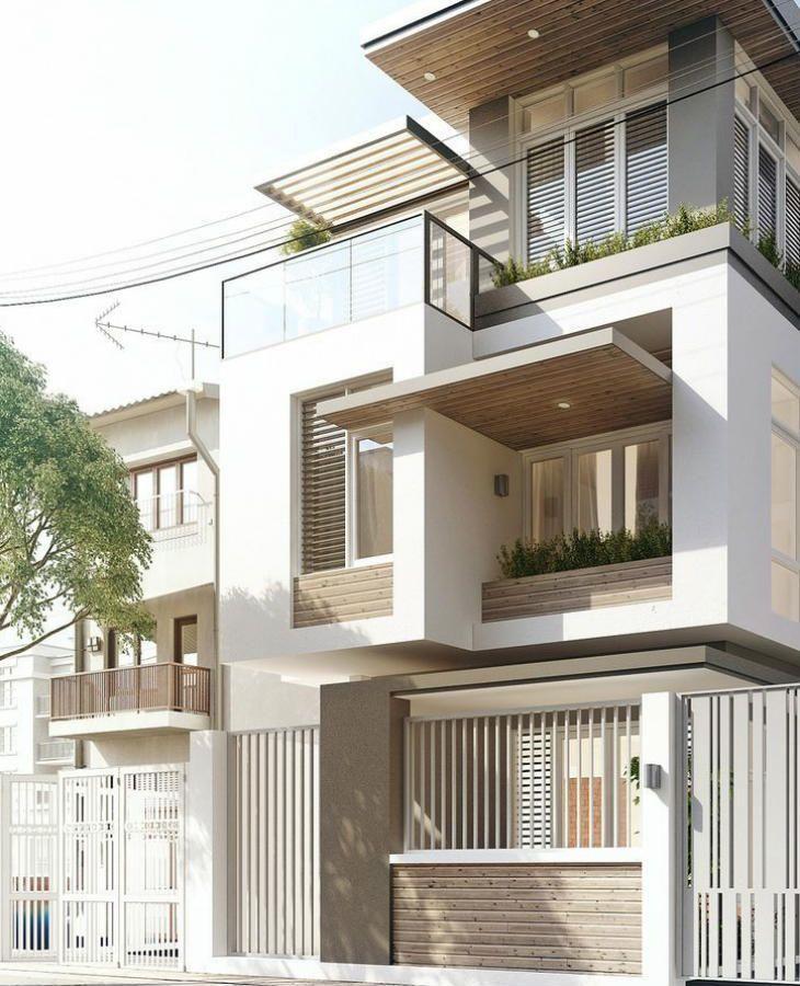 70 ideias de muros de casas que voc pode fazer na sua - Colores para fachadas rusticas ...