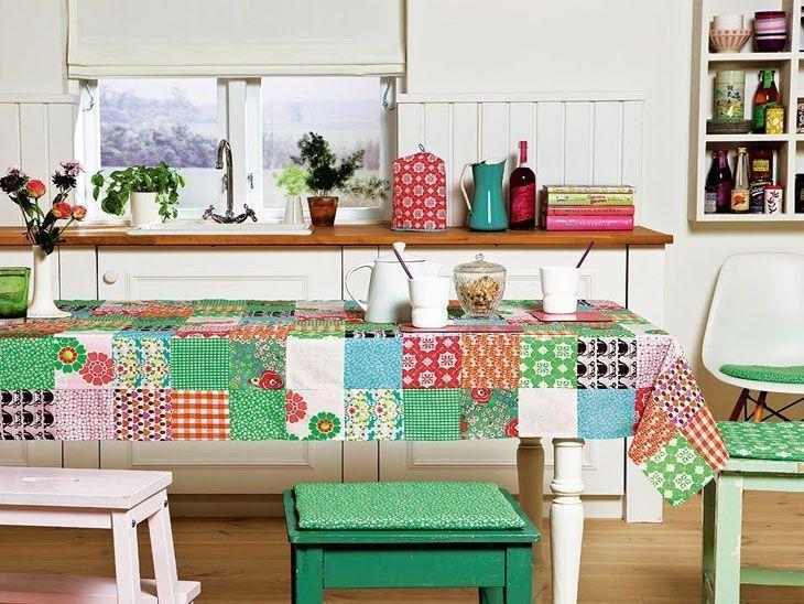 Patchwork: como fazer e usar na decoração da sua casa