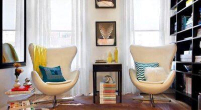 40 ambientes com poltrona Egg e dicas para usá-la na decoração