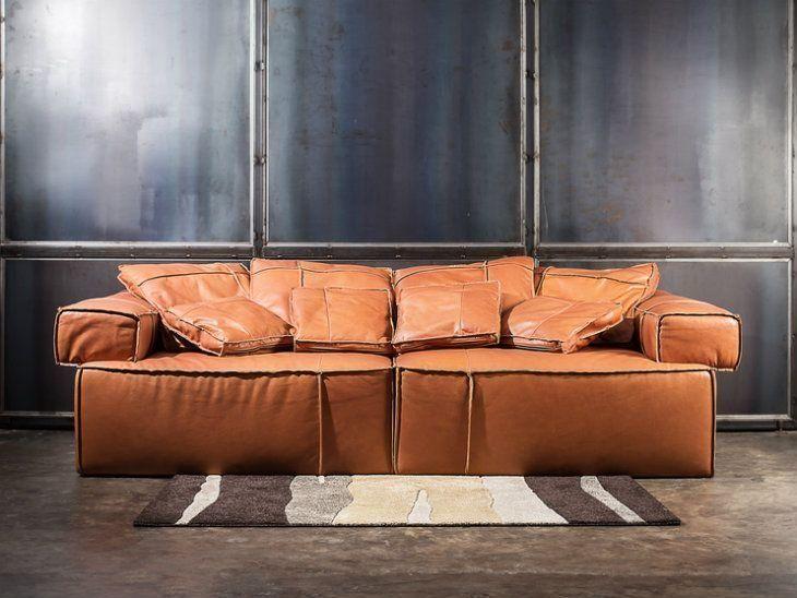 sofá de couro 65 modelos que você vai se apaixonar