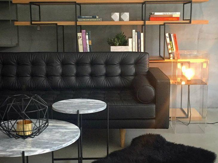 Sofá de couro: 65 modelos que você vai se apaixonar