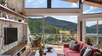 Ideia de decoração para uma casa rústica e confortável