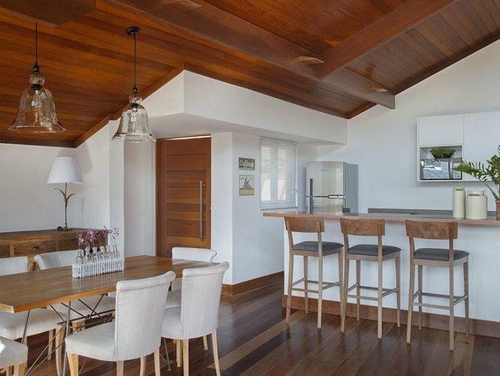Ideia de decora o para uma casa r stica e confort vel for Sala rustica moderna