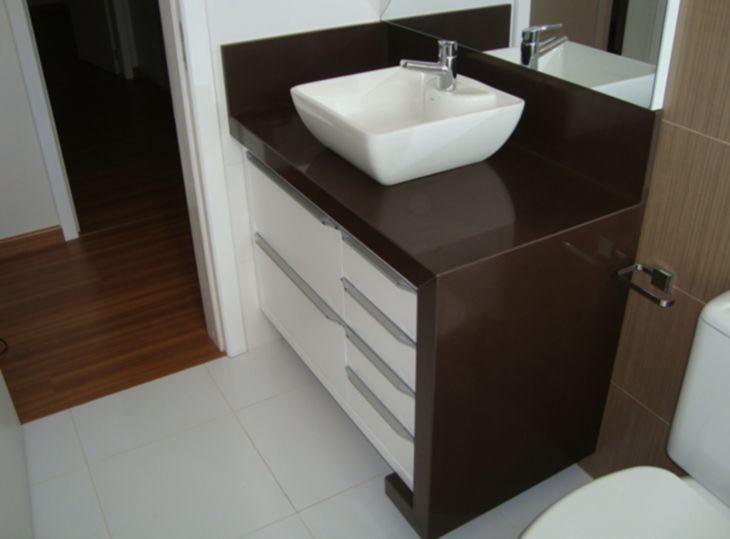 Granito marrom absoluto veja 30 projetos e ideias de decoração -> Pia De Banheiro Granito Marrom Absoluto