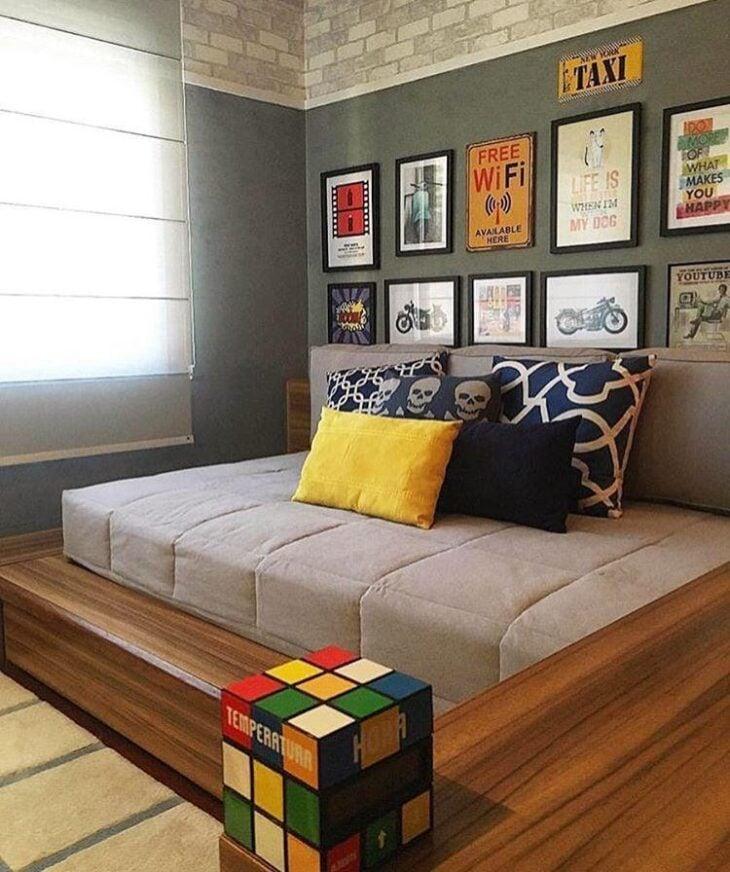 Quarto de adolescente 70 ideias de decora o para se inspirar for Ideas decorativas para habitaciones