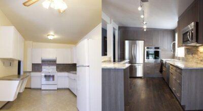 30 ambientes antes e depois de serem decorados por um profissional
