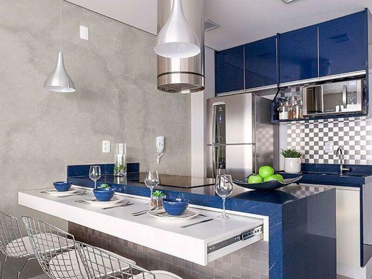 Resultado de imagem para objetos azul para cozinha