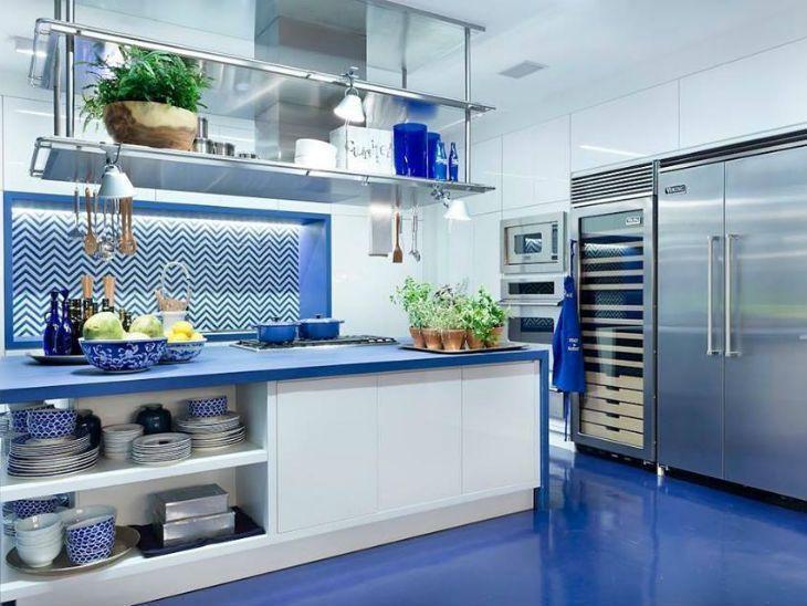 50 cozinhas coloridas para fugir do tradicional com estilo
